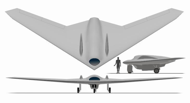 هواپیمای بدون سرنشین RQ-170 Sentinel