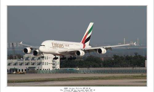 Emirates Airbus A380-...